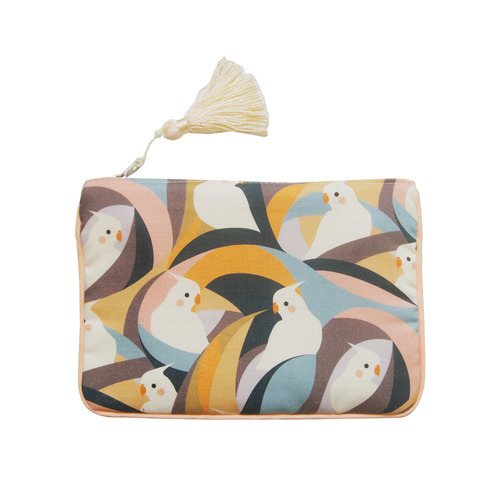 (new5%) parrot pouch