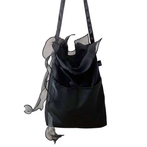 (sale)commodnol scarf bag_black