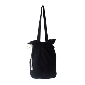 cotton bucketbag_black
