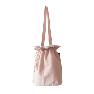 cotton bucketbag_pink