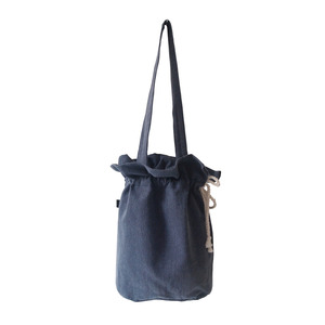 (재고소진sale) cotton bucketbag_navy
