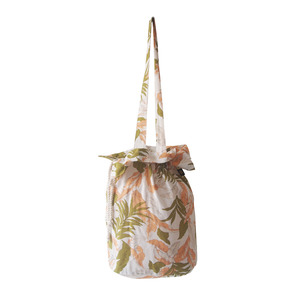 cotton bucketbag_palmtree