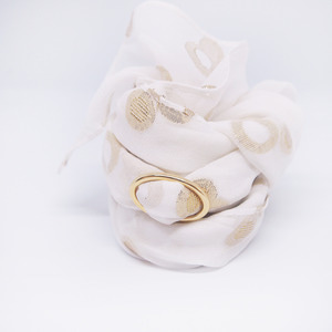 gold ring silk scarf _onyou