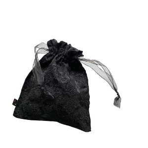 (sale)commodnol ribbon pouch_black