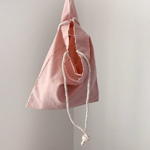 (new5%) string eco bag_pink