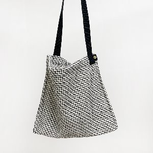(new5%) wool simple bag_zigzag