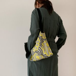 (new5%) wool simple bag_ momori