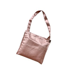 (new5%) silk simple bag_pink