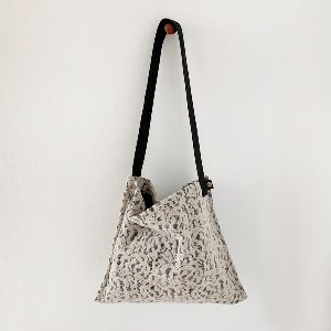 (new5%) wool simple bag_ byjuju