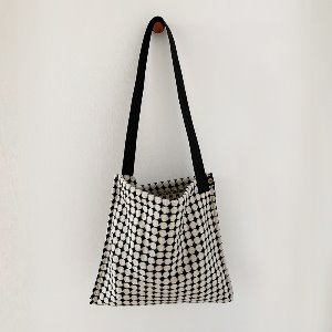 (new5%) wool simple bag_ dotdot