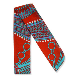 multi silk scarf - Honolulu
