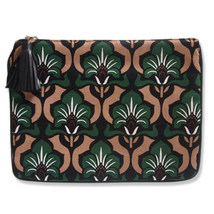 flower pattern medium pouch