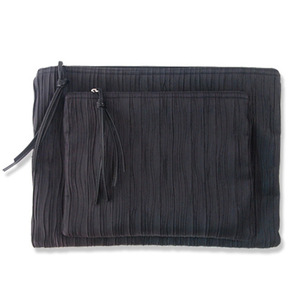 wrinkle big pouch n clutch