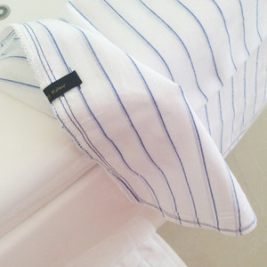 cotton towel - blue st